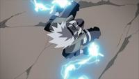 Corte Relâmpago - Perfuração das Luzes Gêmeas (Kakashi - Filme)