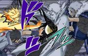 Dios Trueno Volador Jutsu de Intercambio en el Mismo Momento Manga 2