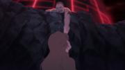 Dokku e Shiseru tomados em lágrimas