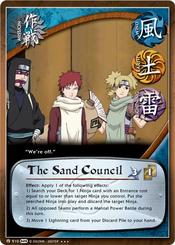 El Consejo de la Arena Carta