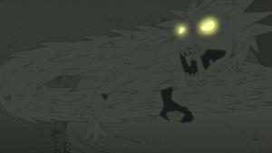 Elemento Madera Jutsu Dragon de Madera Anime