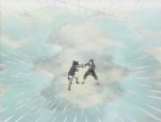 Mil Agujas de Agua Voladoras de la Muerte Anime