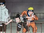 Naruto empurra Shikamaru