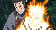 Tatewaki hablando con Naruto