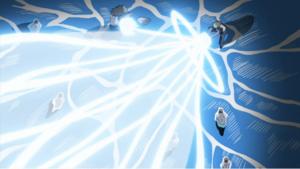 Elemento Tormenta-Circo de Laser