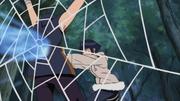 Hinata acerta Suika com seu Punho Gentil