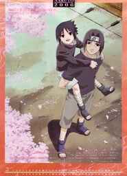 Naruto Calendario 2006 Marzo-Abril Versión B