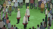Naruto Quelling Crowd