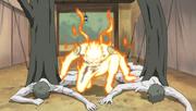 Naruto salva a Sakura de los Zetsu Blanco