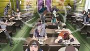 Neji y Hinata chocan sus Palmas del Vacío