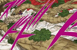Jutsu Secreto de Elemento Madera Nacimiento de un Mundo de Árboles Manga