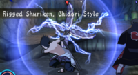 Shuriken Rigida, Estilo Chidori (Game)