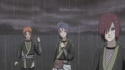 Yahiko, Konan y Nagato en el pasado