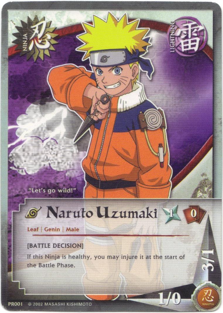 Naruto trading card game singles