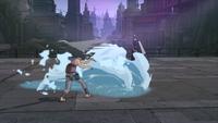 Impacto do Fluxo de Água (Suigetsu - Game)