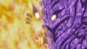 Kurama Mode and Susanoo