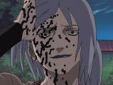Sakon y Ukon en el Nivel Uno de su Transformación de Sello Maldito Anime