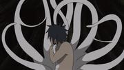 Tobi le ofrece su cuerpo a Obito