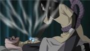 Desellado de los Cinco Elementos Usado por Orochimaru Anime