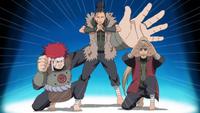 Formação Ino–Shika–Chō (15º Geração)