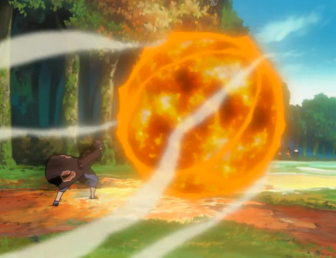 fireball jutsu