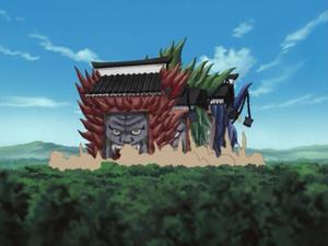 Invocación Triple Rashōmon Anime