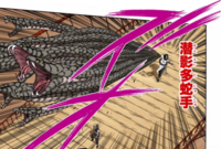 Mãos de Múltiplas Serpentes Ocultas na Sombra (Orochimaru-Mangá)