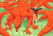 Naruto et Kyûbi