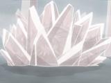 Liberação de Cristal: Formação da Oitava Parede de Cristal de Jade