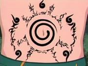 El Sello de los Cinco Elementos sobre el Sello de Ocho Trigramas de Naruto
