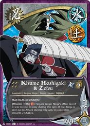 Kisame Hoshikage y Zetsu SL