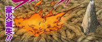 Liberação de Fogo Grande Destruição de Fogo (Mangá Colorido)