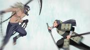 Mifune y Hanzō pelean en el pasado