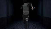 Shikamaru corre de encontro com Gengo