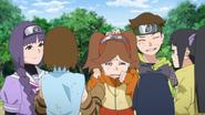 Wasabi, Namida e Sumire se tornam genin