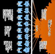 El chakra de Naruto y su resonancia con el de los shinobis de la alianza