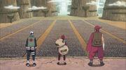 Gaara habla para todos los Shinobis de la Alianza