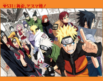 Naruto Capítulo 531 Full Color