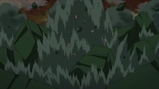 Sakura beats Juubi clones