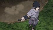 Sasuke détruit la cachette de l'Akatsuki