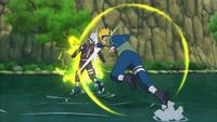 Técnica do Deus Voador do Trovão (Minato - Game)