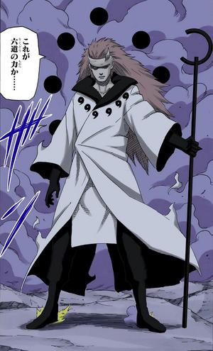 Transformación del Sabio de los Seis Caminos Manga