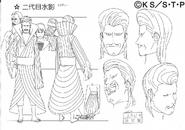 Arte Pierrot - Segundo Mizukage