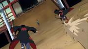 Hidan e Kakuzu lutam contra Chiriku
