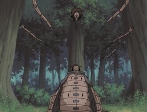 Jutsu Secreto Negro Doncella de Hierro Anime