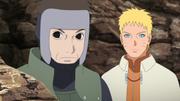 Naruto reunido con Yamato