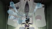 Orochimaru invoca o Shinigami