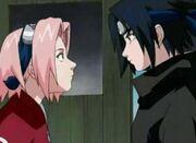 Sakura encuentra asasuke