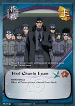 Carta Examen Chunin