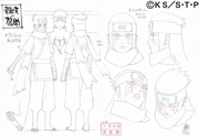 Diseño de Kyūsuke hecho por Studio Pierrot